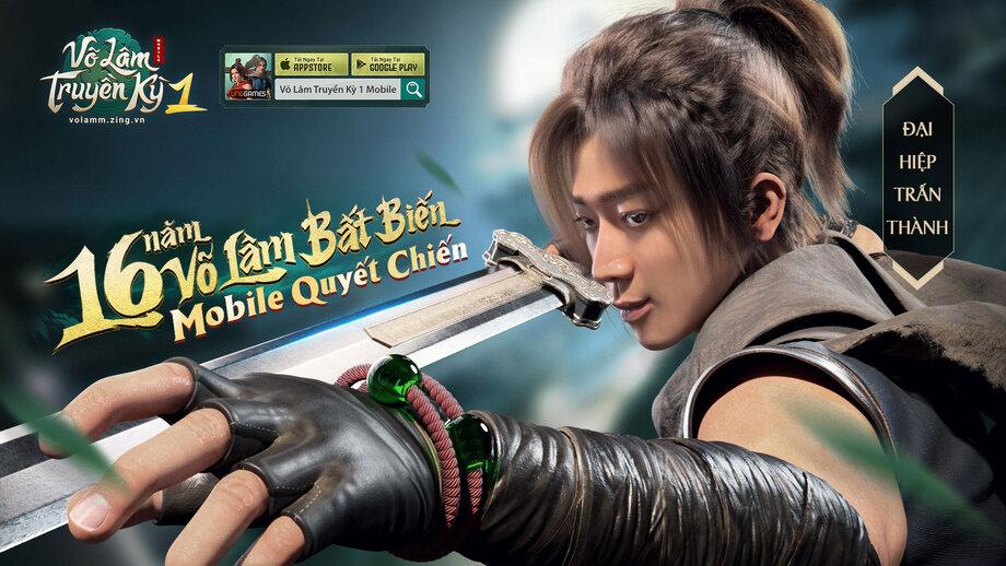 'Ba Sang' Trấn Thành làm đại sứ thương hiệu cho tựa game Võ Lâm Truyền Kỳ 1 Mobile, tạo hình nhân vật ngầu khỏi phải bàn