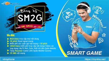 SMART GAME ( SM2G) - Gói cước phải có dành cho các Game thủ